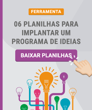 Planilhas para programa de ideias