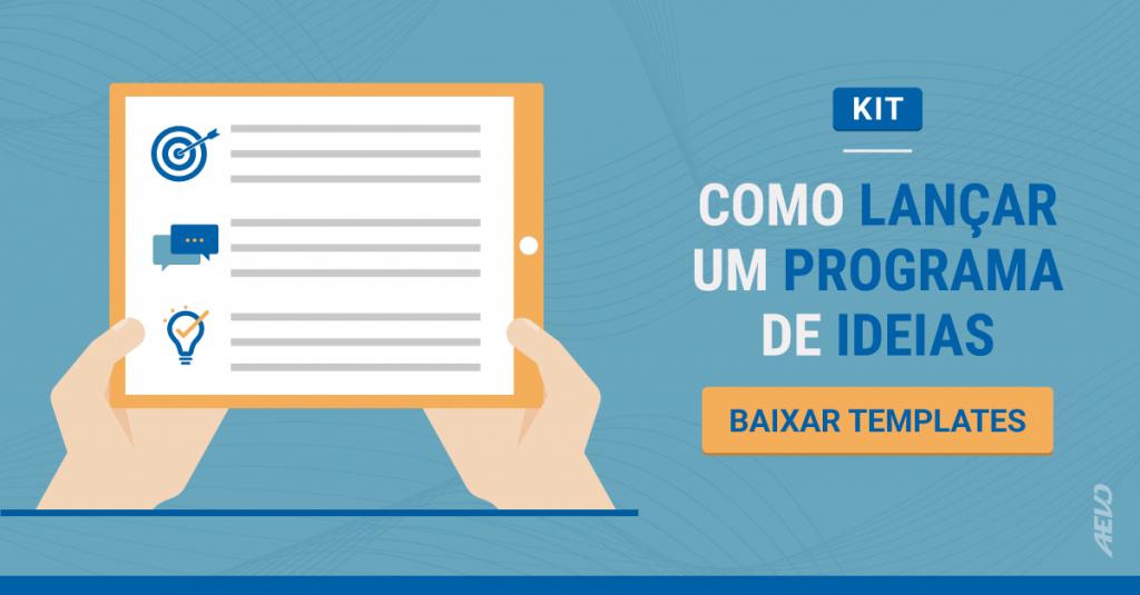 O que o PMBOK pode fazer pelo seu programa de Inovação | como lançar um programa de ideias | baixe agora seu template