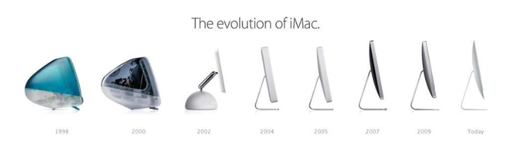 Exemplos de inovação incremental: Apple