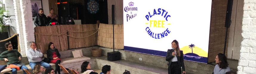 Conheça o Desafio Livre de Plástico da Corona & Parley for the Oceans